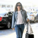Emmy Rossum – Arrives at LAX Airport in LA - 454 x 641