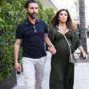 Eva Longoria and Jose Baston – Out in Los Angeles - 454 x 627