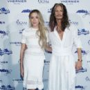 Steven Tyler and Aimee Preston attend the 2017 celebrity fight night  on September 8, 2017 in Rome, Italy