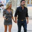Sylvie Meis – Spotted at restaurant le Cafe in Saint-Tropez