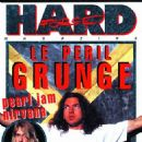 Eddie Vedder, Kurt Cobain - Hard Force Magazine Cover [France] (October 1993)