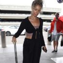 Leona Lewis – Arriving at LAX Airport in Los Angeles - 454 x 728