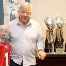 Robert Kraft with Sam Berns - 454 x 250