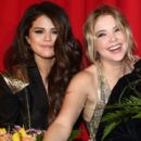 Selena Gomez, Ashley Benson and Vanessa Hudgens attend the 'Spring Breakers' Germany premiere at CineStar on February 19, 2013 in Berlin, Germany - 396 x 594