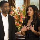Regina Hall and Chris Rock
