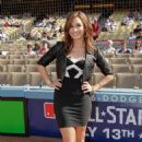 "Demi Lovato *Sweetness* - ""Dodger Stadium"" In Los Angeles - July 11 2010"