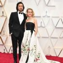 Adam Driver and Joanne Tucker At The 92nd Annual Academy Awards - Arrivals - 454 x 565