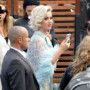 Katy Perry – Arriving at the 'American Idol' set in Los Angeles - 454 x 639