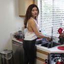 Blanca Blanco in Tight Pants – Inside her home in LA - 454 x 681