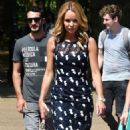 Amanda Holden at St James Park in London - 454 x 782