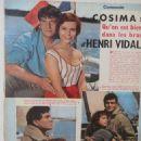Henri Vidal - Cinemonde Magazine Pictorial [France] (14 August 1958) - 454 x 605