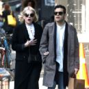 Lucy Boynton and Rami Malek Out in New York 03/11/2019 - 454 x 681