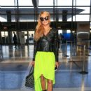Paris Hilton is seen arriving at LAX August 26, 2016
