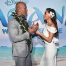 Dwayne Johnson- November 14, 2016- The World Premiere of Disney's 'Moana' - 399 x 600