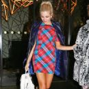 Pixie Lott leaving the Mahiki Nightclub in London December 22, 2014