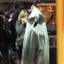 Margot Robbie – On set of 'Birds of Prey' in LA