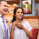 Halle Berry on Despierta America in New York - 454 x 542