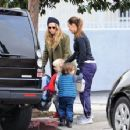 Teresa Palmer spotted in Los Angeles, California on January 10, 2017 - 454 x 353