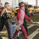 Bella Thorne at JFK Airport in New York City
