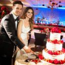 C.J. Wilson, Lisalla Montenegro Wedding photo