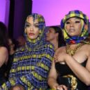 Nicki Minaj and Rita Ora – Versace Fashion Show in Milan - 454 x 302