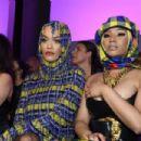 Nicki Minaj and Rita Ora – Versace Fashion Show in Milan