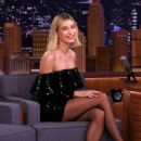 Hailey Bieber – On 'The Tonight Show Starring Jimmy Fallon' in NYC