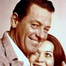 William Holden and Nancy Kwan
