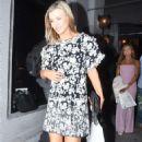 Joanna Krupa in Mini Dress at Craig's in Los Angeles - 454 x 681