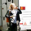 Claire Danes On The Set Of Homelandi In Berlin