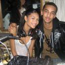Chanel Iman and Chris Smith - 454 x 357