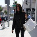 Sofia Vergara - Shopping In Beverly Hills, 2010-04-12