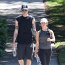 Ashley Tisdale – goes hiking with her husband in Los Angeles