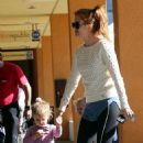 Amy Adams and Isla Fisher out in Studio City (October 24)