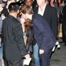 Robert Pattinson Outside Jimmy Kimmel Live - November 2, 2011