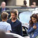 Brad Pitt and Lara Marsden