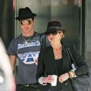 Jennifer Aniston & Justin Theroux: Fedora Fabulous in NYC