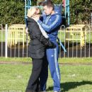 Kerry Katona and Steve Alce