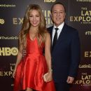 Thalía and Tommy Mottola- 'The Latin Explosion: A New America,' Premiere Screening - 375 x 600