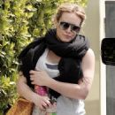 Hilary Duff After A Morning Workout In Hollywood, 2009-04-09