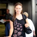 Olivia Wilde - Arriving Into LAX Airport, 13.10.2010.