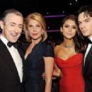 More pictures of Nina Dobrev and Ian Somerhalder at the 63rd Emmy Awards