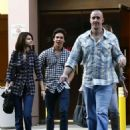 Selena Gomez Shops With Family And Rumored Boyfriend, Cameron Quiseng