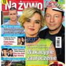 Monika Richardson and Zbigniew Zamachowski - Na żywo Magazine Cover [Poland] (11 August 2011)