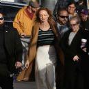 Heather Graham – Arriving at Jimmy Kimmel Live! in LA