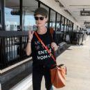 Juliette Lewis – Seen at Los Angeles LAX