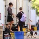 Nina Dobrev – 'Flatliners' Set in Toronto 7/26/2016 - 454 x 466