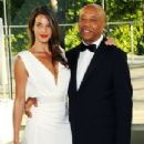 Angela Bellotte and Russell Simmons