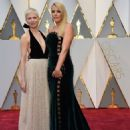 Michelle Williams and Busy Phillips At the 89th Annual Academy Awards - Arrivals (2017) - 454 x 578