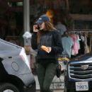 Elizabeth Olsen – Leaving a restaurant in LA - 454 x 692